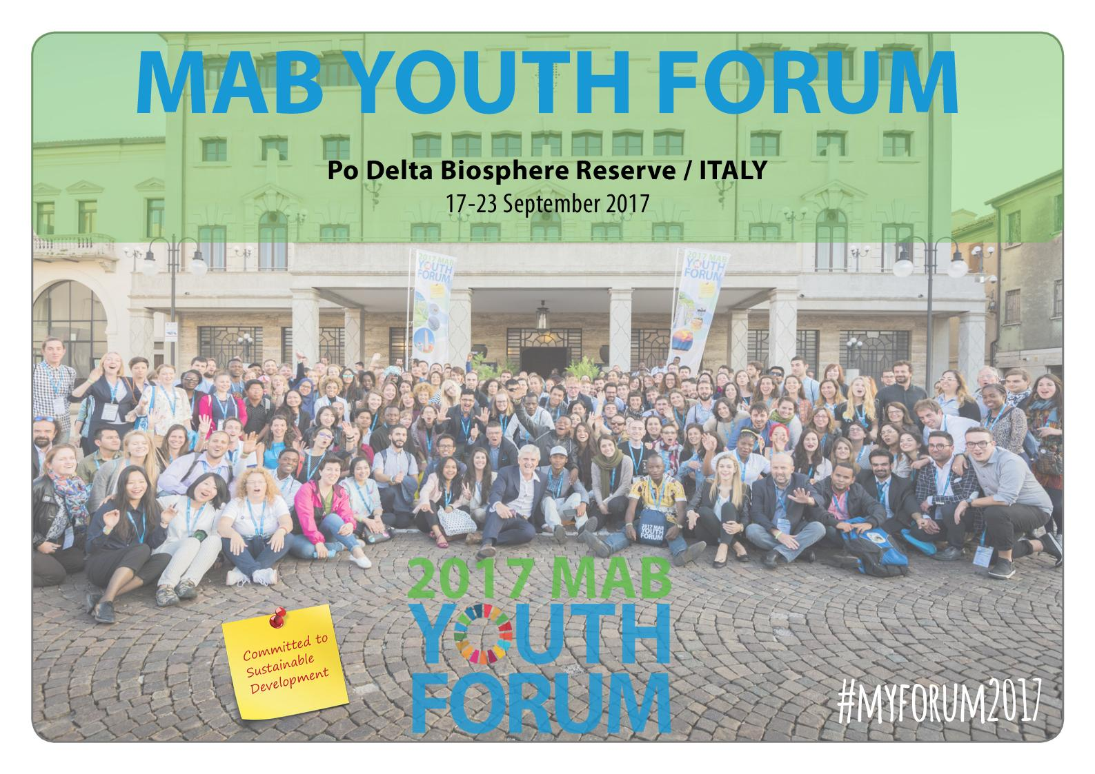 MAB YOUTH FORUM 2017